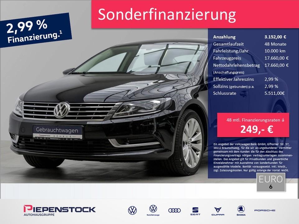 Volkswagen CC 2.0 TDI Business Premium Bi-Xenon Navi ACC, Jahr 2016, Diesel