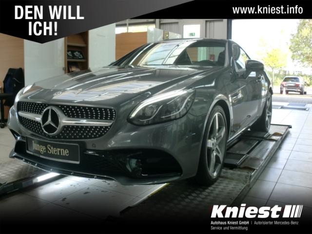 Mercedes-Benz SLC 200 AMG+Navi+LED+Airscarf+Leder+Spiegel-P+Parktronic, Jahr 2020, Benzin