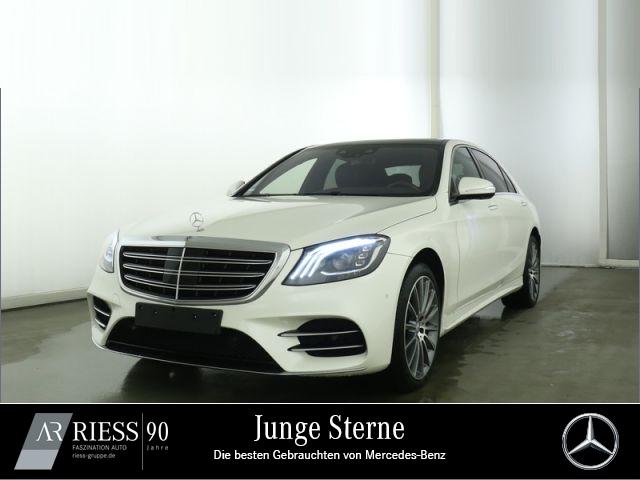 Mercedes-Benz S 400 d 4M L AMG Sport Sitzkli Burmes 3D Standh, Jahr 2017, Diesel