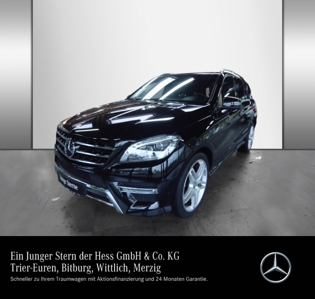 Mercedes-Benz ML 400 4M AMG Line Pano Airmatic Active Curve Of, Jahr 2015, petrol