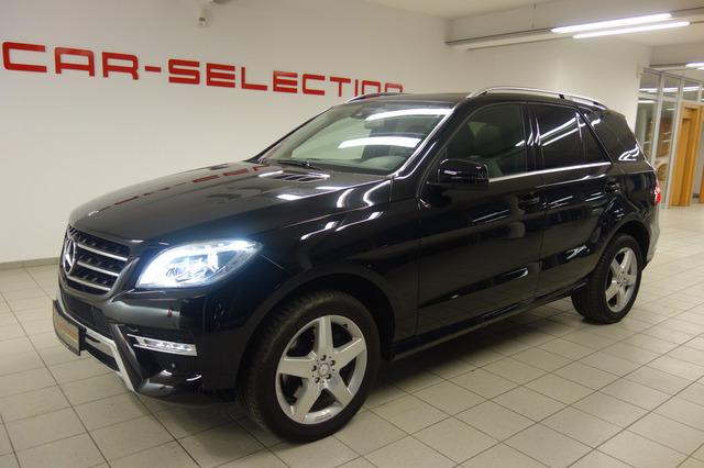 Mercedes-Benz ML 350 CDI BT AMG LINE STDHZG/GSD/XENON/COMAND, Jahr 2014, Diesel