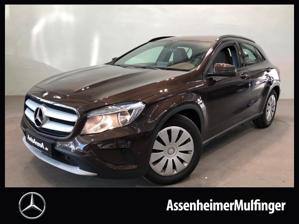 Mercedes-Benz GLA 220 d **Navi/Leder nussbraun/Park-Assistent, Jahr 2016, Diesel