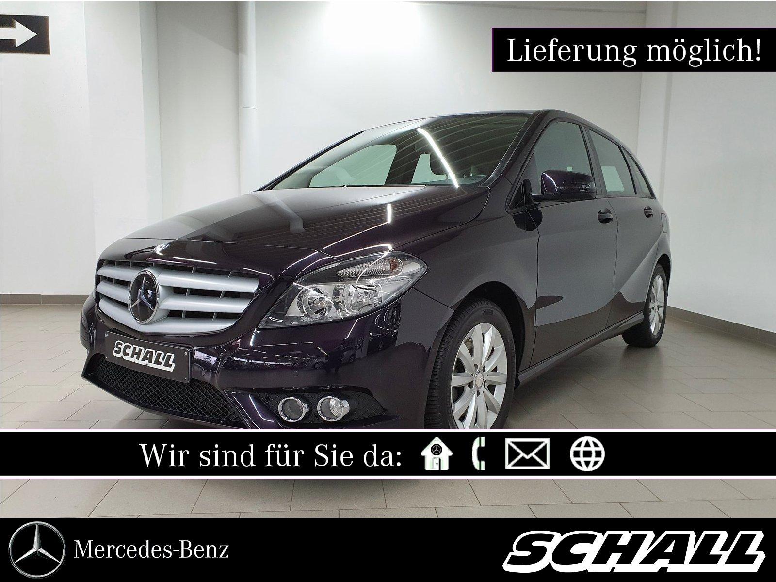 Mercedes-Benz B 200 CDI MEMORY-PAKET+PARK-PILOT+SITZHEIZUNG, Jahr 2013, Diesel