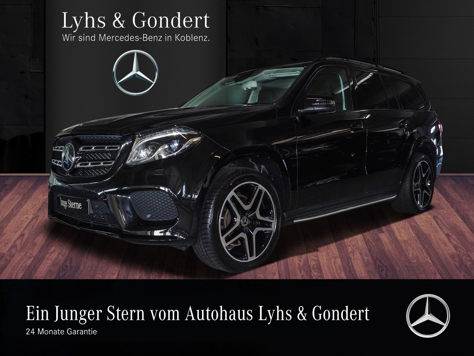 Mercedes-Benz GLS 400 4MATIC AMG Designo Comand Distronic, Jahr 2018, Benzin