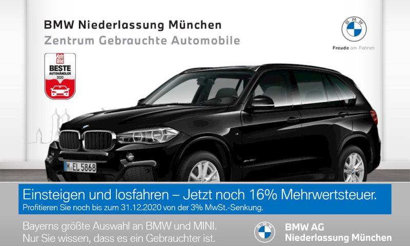 BMW X5 xDrive30d Sportpaket Head-Up LED Standhzg. EURO6, Jahr 2017, Diesel