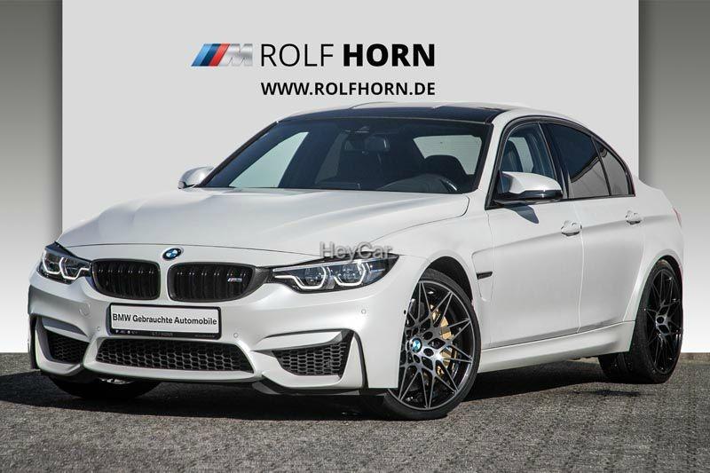 BMW M3 Competition Paket M DKG HUD H&K Carbon Bremse, Jahr 2017, Benzin