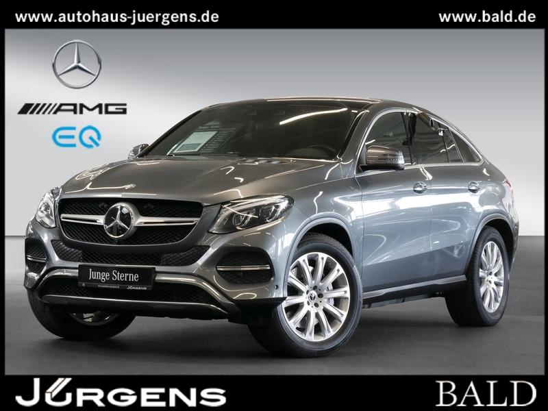 Mercedes-Benz GLE 500 4M Coupé Comand/ILS/Pano/Memo/360/AHK/20, Jahr 2017, Benzin