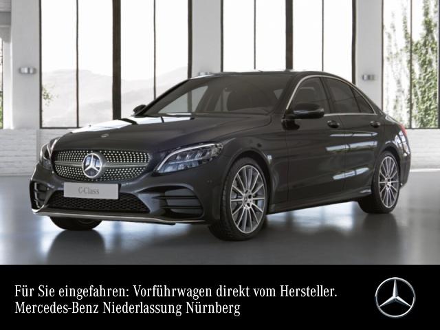 "Mercedes-Benz C 300 AMG+LED+Kamera+19""+Spur+Totw+Keyless+9G, Jahr 2021, petrol"