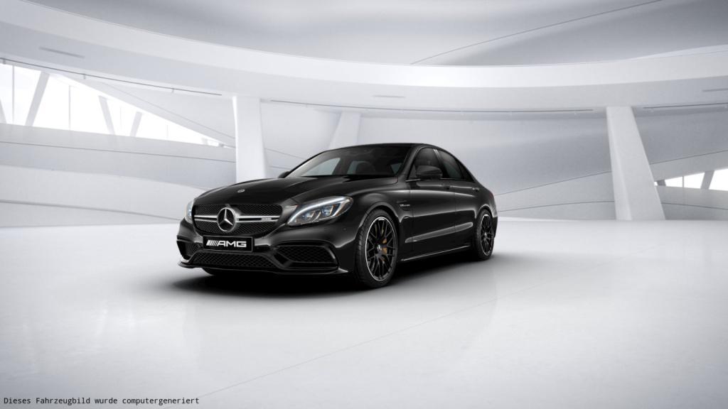 Mercedes-Benz C 63 S AMG Perf. Sitze/Burmester/Comand/360°/HUD, Jahr 2017, Benzin