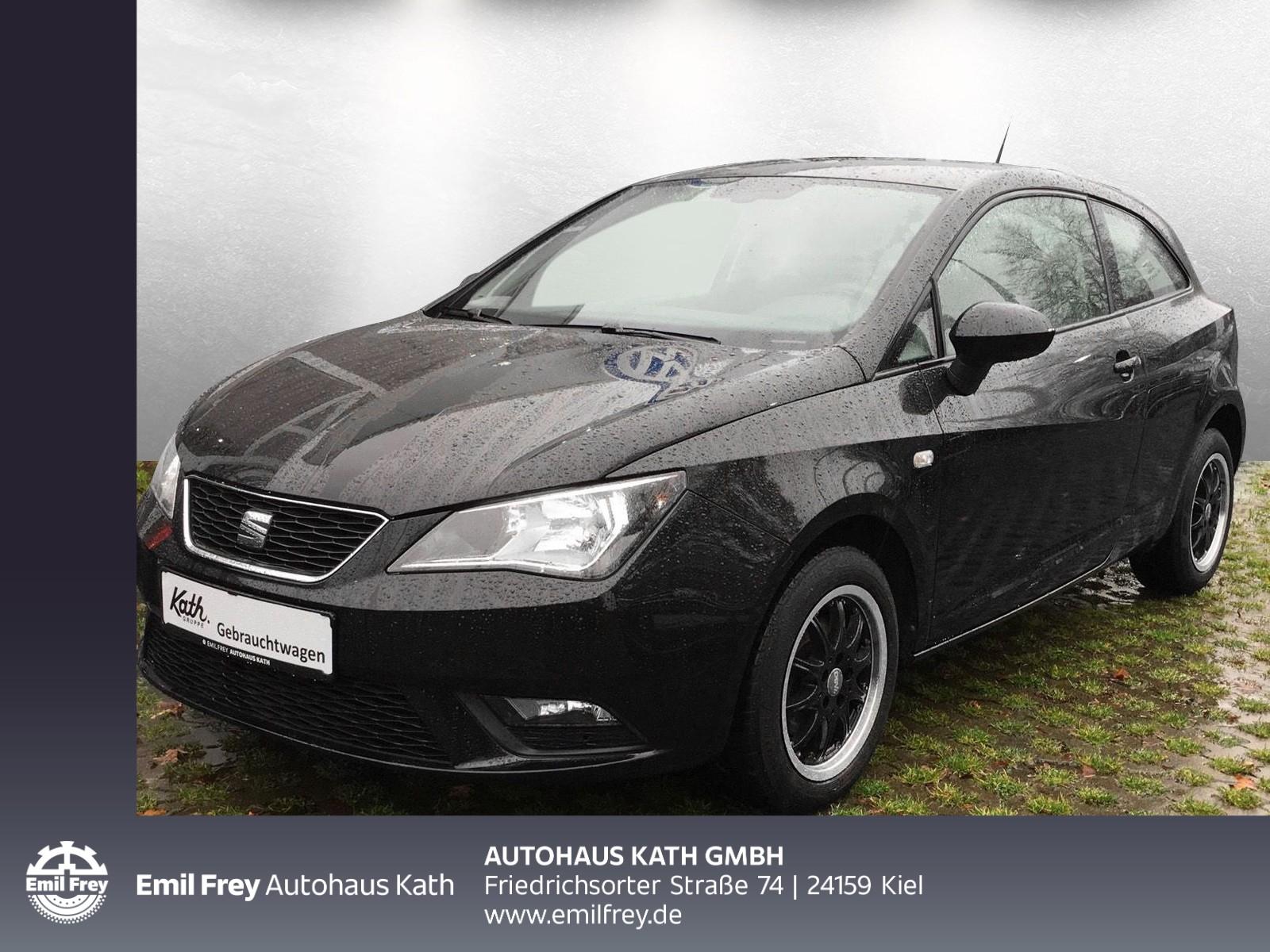 Seat Ibiza SC 1.2 Style 4Vou, Jahr 2014, petrol