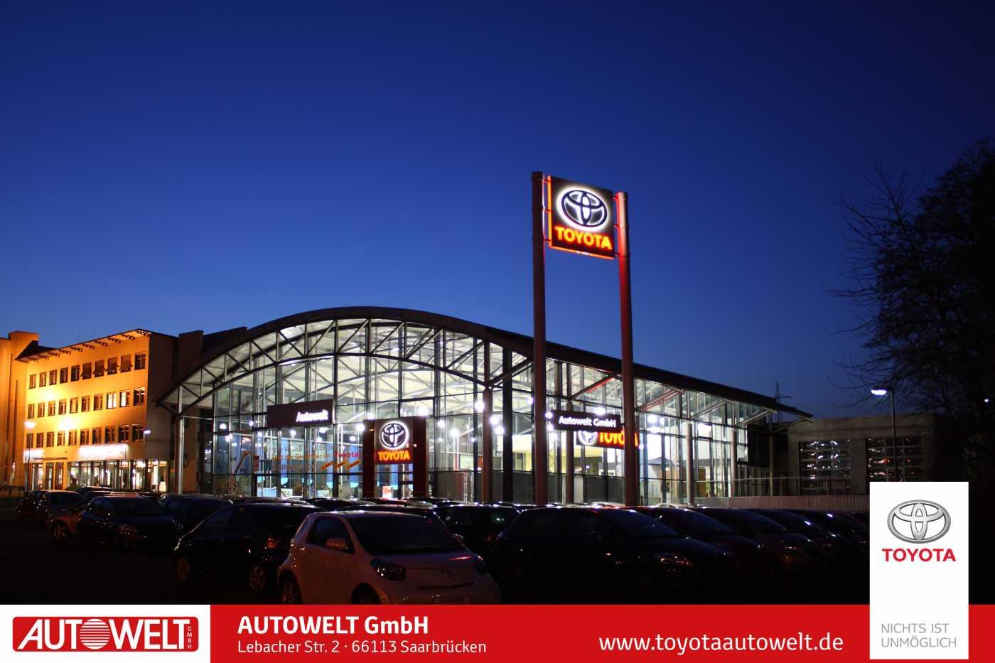 Toyota Yaris 5-Türer 1.33 Cool Klima ZV EFH, Jahr 2012, petrol