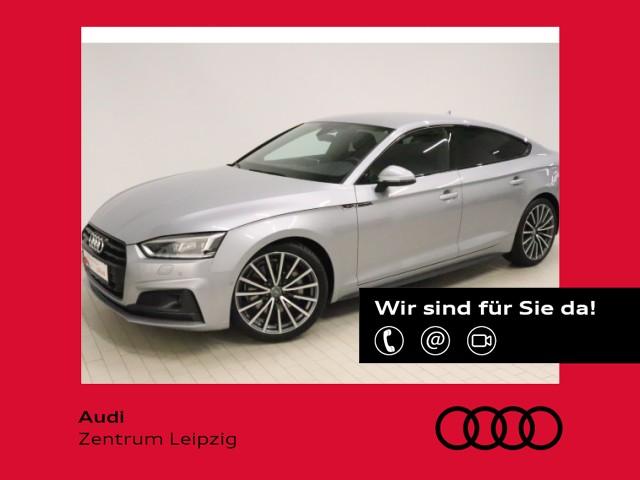 Audi A5 Sportback 45 TFSI quattro sport *Standheiz.*, Jahr 2019, Benzin