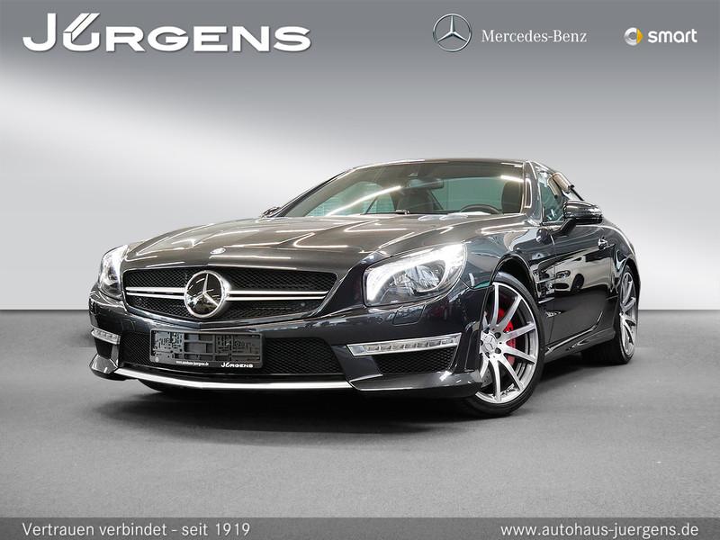Mercedes-Benz SL 63 AMG Vmax/Performance/Comand/ILS/HK/Massage, Jahr 2013, petrol