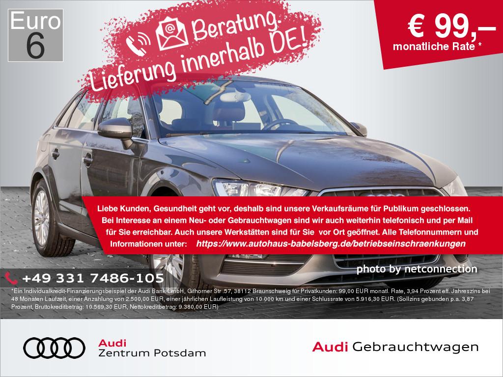 Audi A3 Sportback 1.4 TSI, Jahr 2013, Benzin