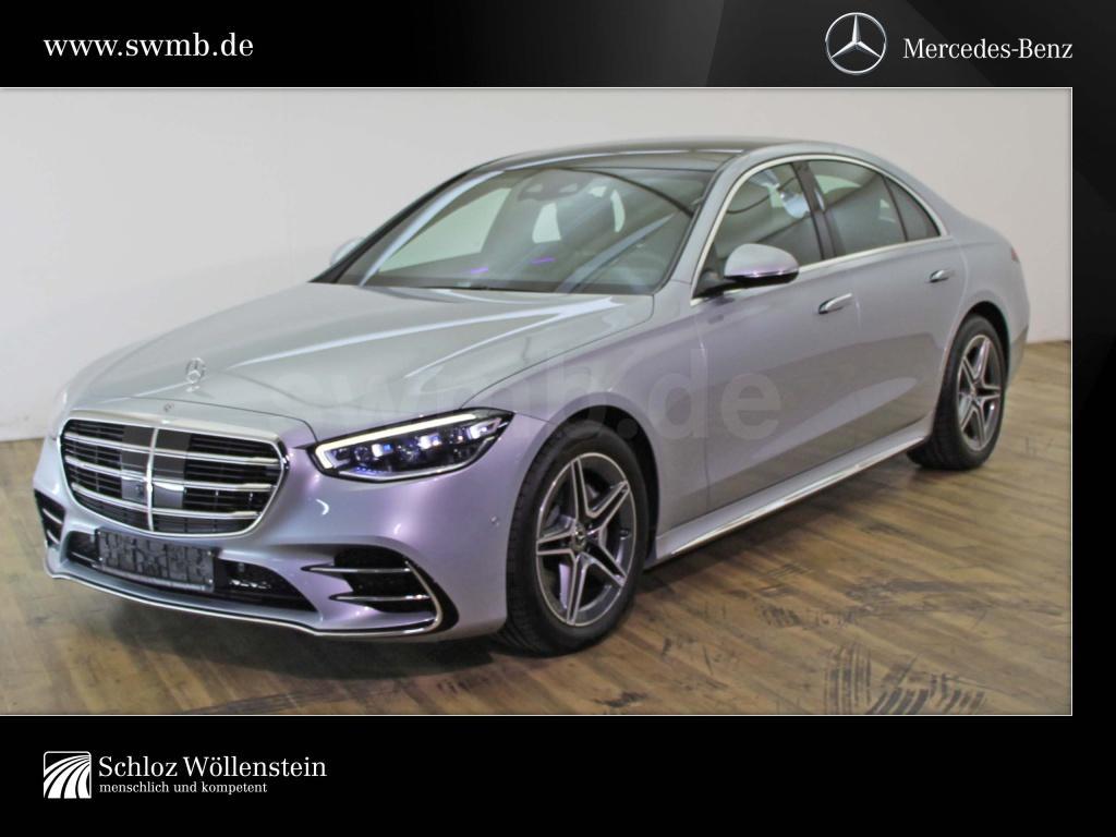 Mercedes-Benz S 350 d 4M AMG/DIGITAL LIGHT/Pano-D/Burmester/3D, Jahr 2020, Diesel