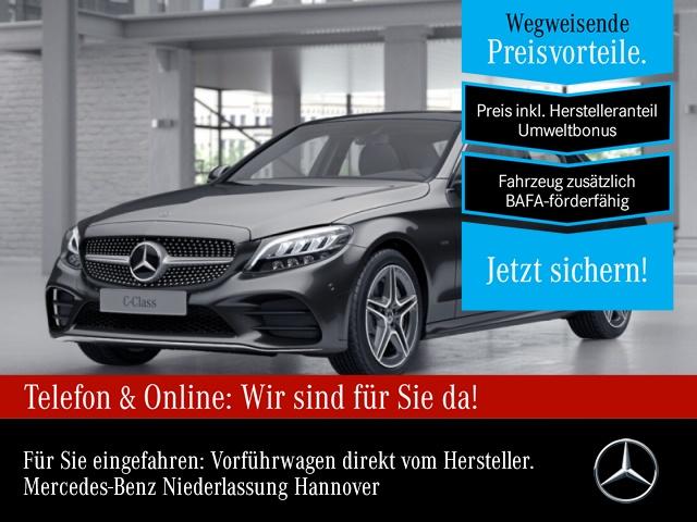 mercedes-benz c 300 de amg pano distr. comand led kamera spurpak, jahr 2020, hybrid_diesel