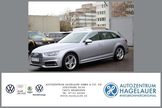 Audi S4 Avant 3.0 TFSI quattro Tiptronic ACC LED AHK, Jahr 2017, Benzin