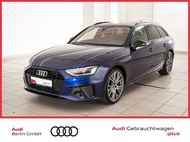 Audi A4 Avant S line 40 TFSI S tr. HUD NAVI PANO LED, Jahr 2021, Benzin