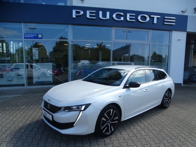 Peugeot 508 SW GT 2.0 BlueHDi 180 EU6d-T LED Navi Keyless Dyn. Kurvenlicht Massagesitze e-Sitze, Jahr 2019, Diesel