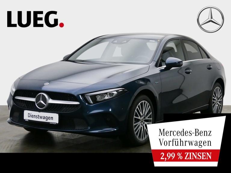 Mercedes-Benz A 250 e Lim STYLE+18''+SITZKLIMA+MBUX-HIGH+LED, Jahr 2020, Hybrid