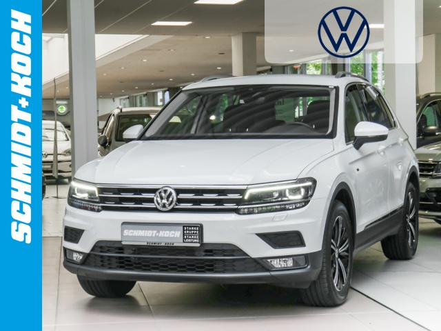 Volkswagen Tiguan 1.5 TSI BMT OPF Join AHK, LED, Navi, Jahr 2019, Benzin