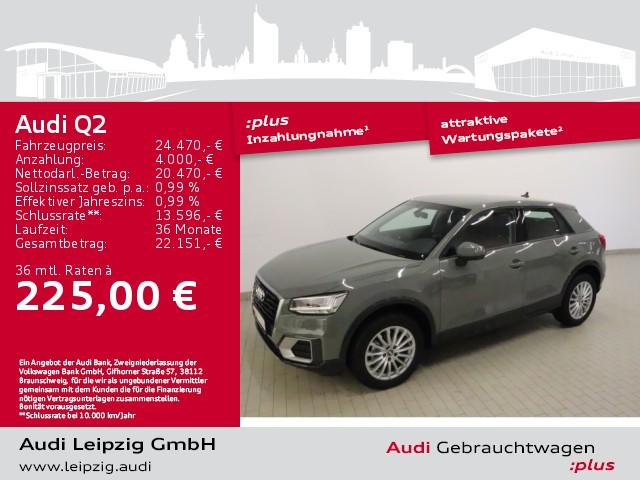 Audi Q2 30 TFSI design *LED*Navi*AHK*, Jahr 2020, Benzin