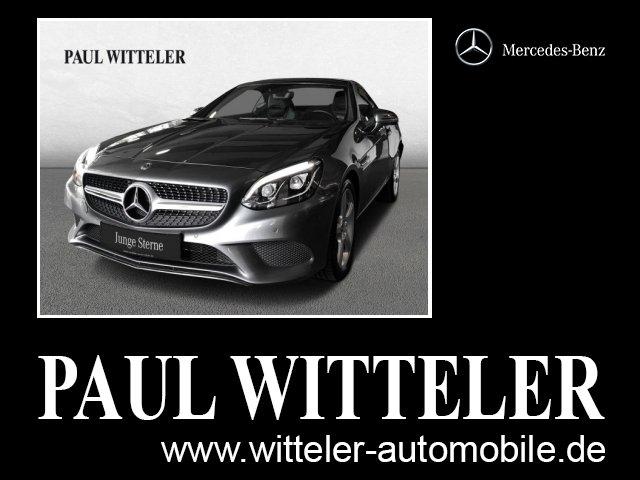 Mercedes-Benz SLC 200 Automatik/COMAND/ILS/Leder/Airscarf/Pano, Jahr 2018, Benzin