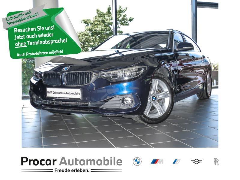 BMW 430i xDrive A Advantage HiFi LED Komfortzg. Shz, Jahr 2018, Benzin
