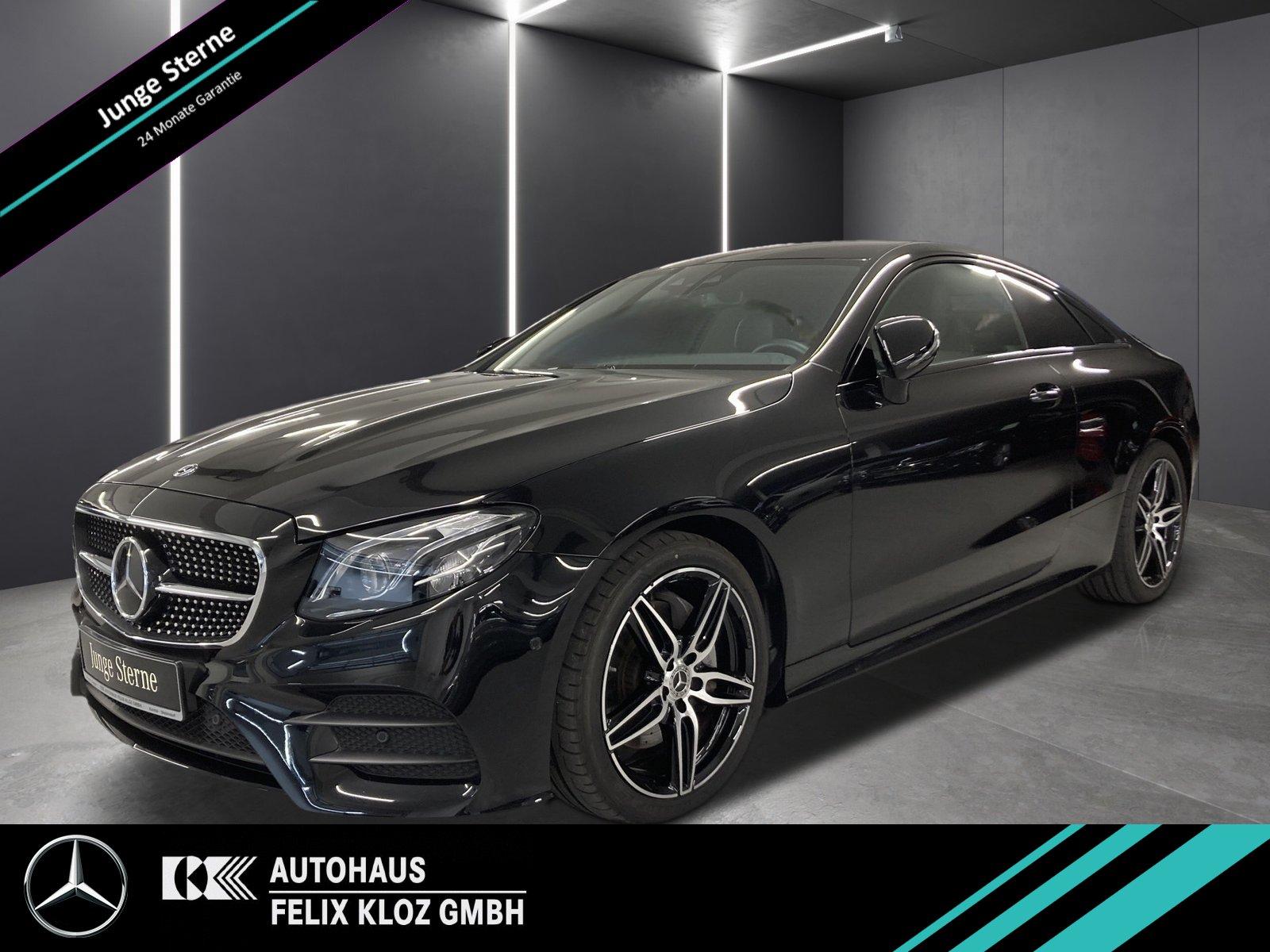 Mercedes-Benz E 300 d Coupe AMG*Navi*Distronic*MultiB*Standhei, Jahr 2020, Diesel