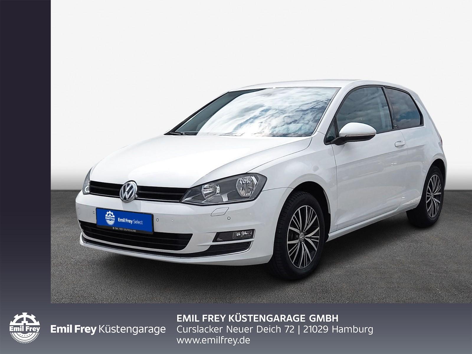 Volkswagen Golf VII 1.2 TSI Allstar GRA, PDC, Climatronic, Jahr 2016, Benzin