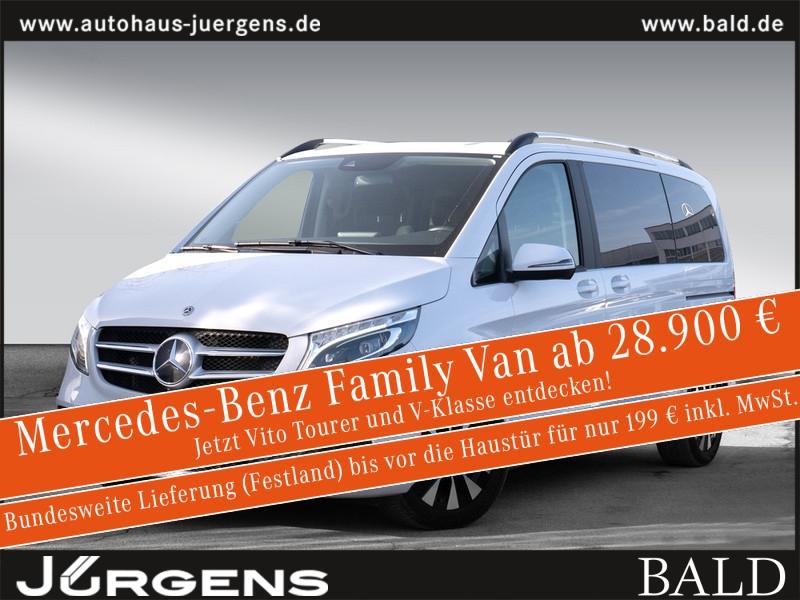 Mercedes-Benz V 300 Edition kompakt 2x Klima Navi Comand AHK L, Jahr 2019, Diesel