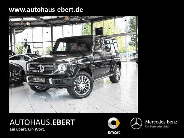 Mercedes-Benz G 500 AMG Line+Interieur-Rot+Sitzklima+360°, Jahr 2021, Benzin