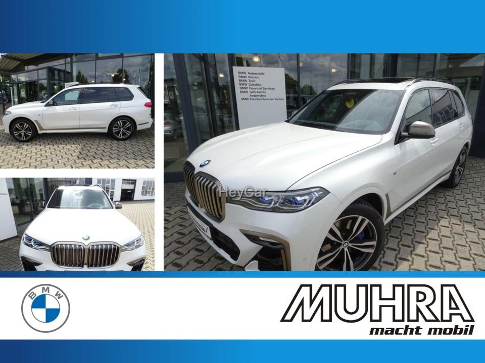 BMW X7 M50iA UPE 129.700 AHK Standhzg SD HiFi DAB, Jahr 2019, Benzin