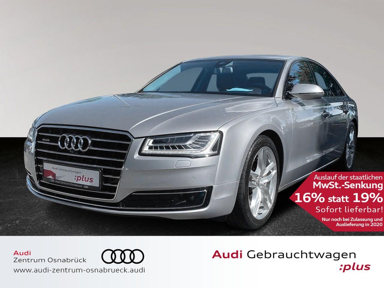 Audi A8 3.0 TDI tiptronic quattro ACC HUD Navi Nachtsicht Schiebedach Massage Standheizung, Jahr 2015, Diesel