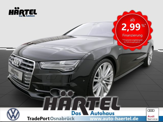 Audi S7 SPORTBACK QUATTRO V8 TFSI S TRONIC (+LUFTFEDERU, Jahr 2017, Benzin