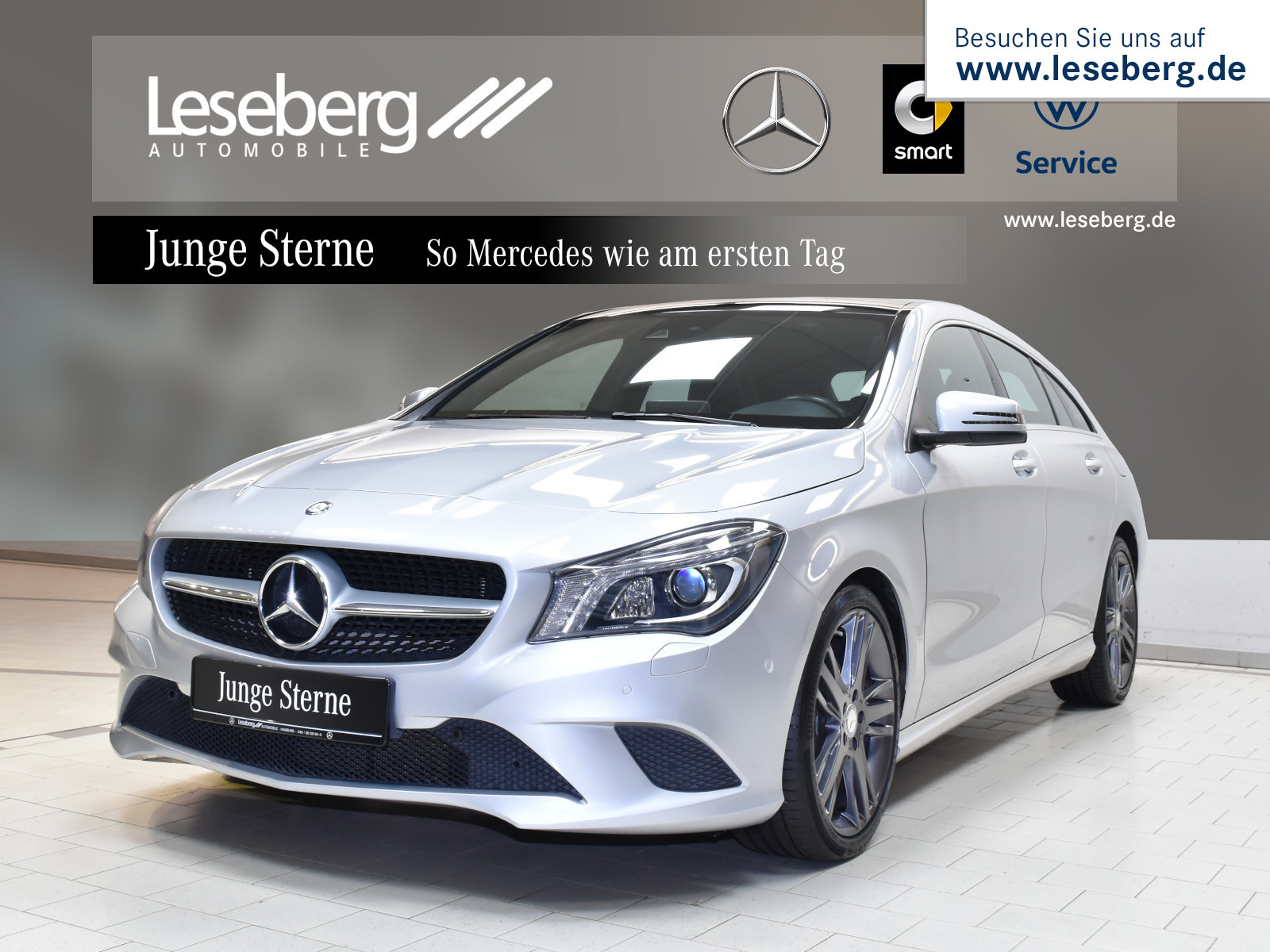 Mercedes-Benz CLA 200 Shooting Brake Urban/7G/Pano/LED/Navi, Jahr 2015, Benzin