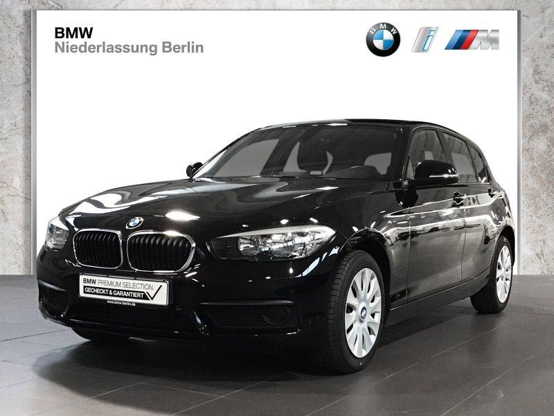 BMW 116i 5-Türer EU6 Klimaaut. Sitzheizung PDC, Jahr 2017, Benzin