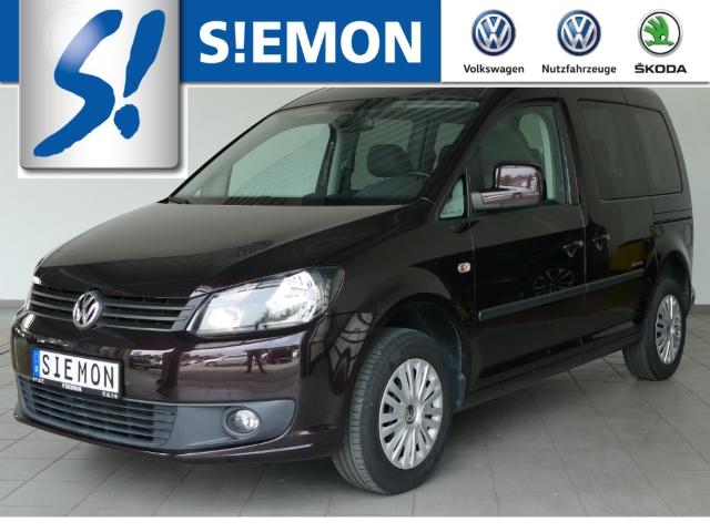 Volkswagen Caddy Life 1.2 TSI SOCCER Klima PDC RadioCD NSW, Jahr 2014, Benzin