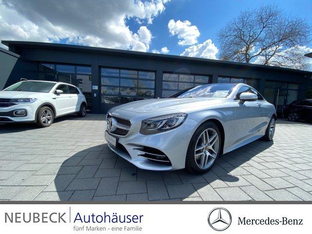 Mercedes-Benz S 560 Coupé AMG Line/COMAND/Pano-Dach/LED/TV/HUD, Jahr 2020, Benzin