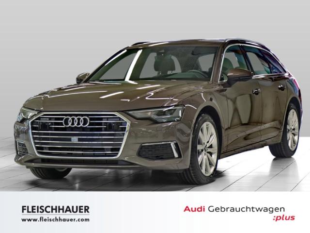 Audi A6 Avant 45 TDI qu. Navi+LED+19''+VC+Kamera+Leder+PDC+DAB+Tour, Jahr 2020, Diesel