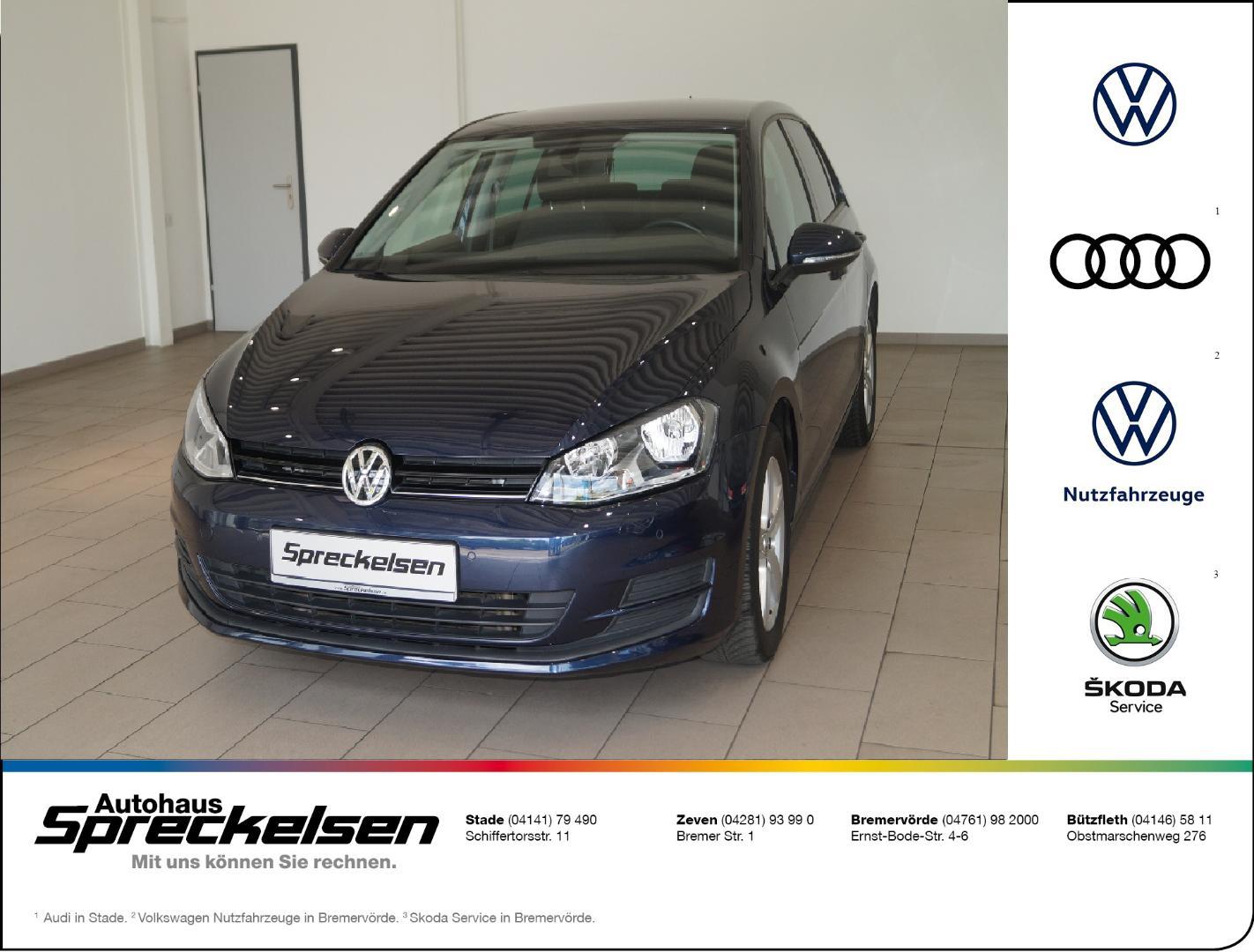 Volkswagen Golf Comfortline VII 1.2 TSI Comfortline++Festpr, Jahr 2013, Benzin