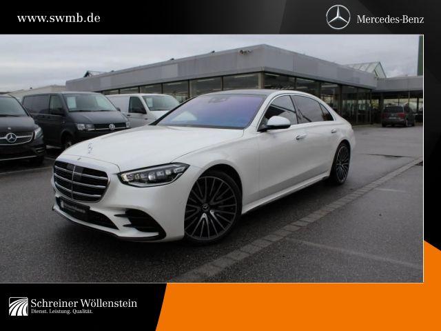 Mercedes-Benz S 500 4M Lang AMG*StdHzg*Digital Light*Pano*360°, Jahr 2020, Benzin