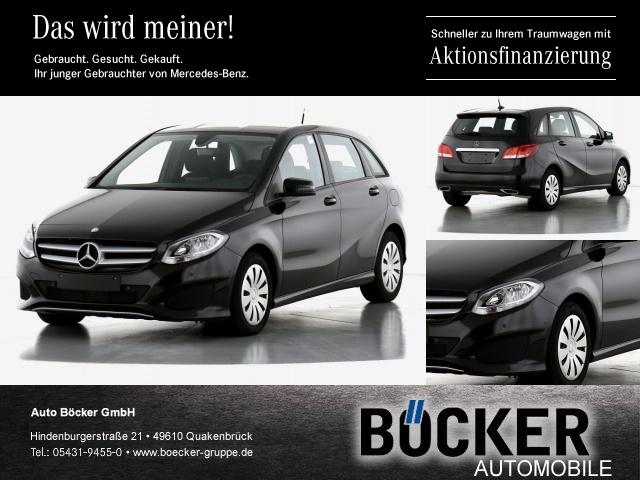 Mercedes-Benz B 220 d 7G DCT Kamera Navi Sitzhzg Parkp MFL, Jahr 2016, Diesel