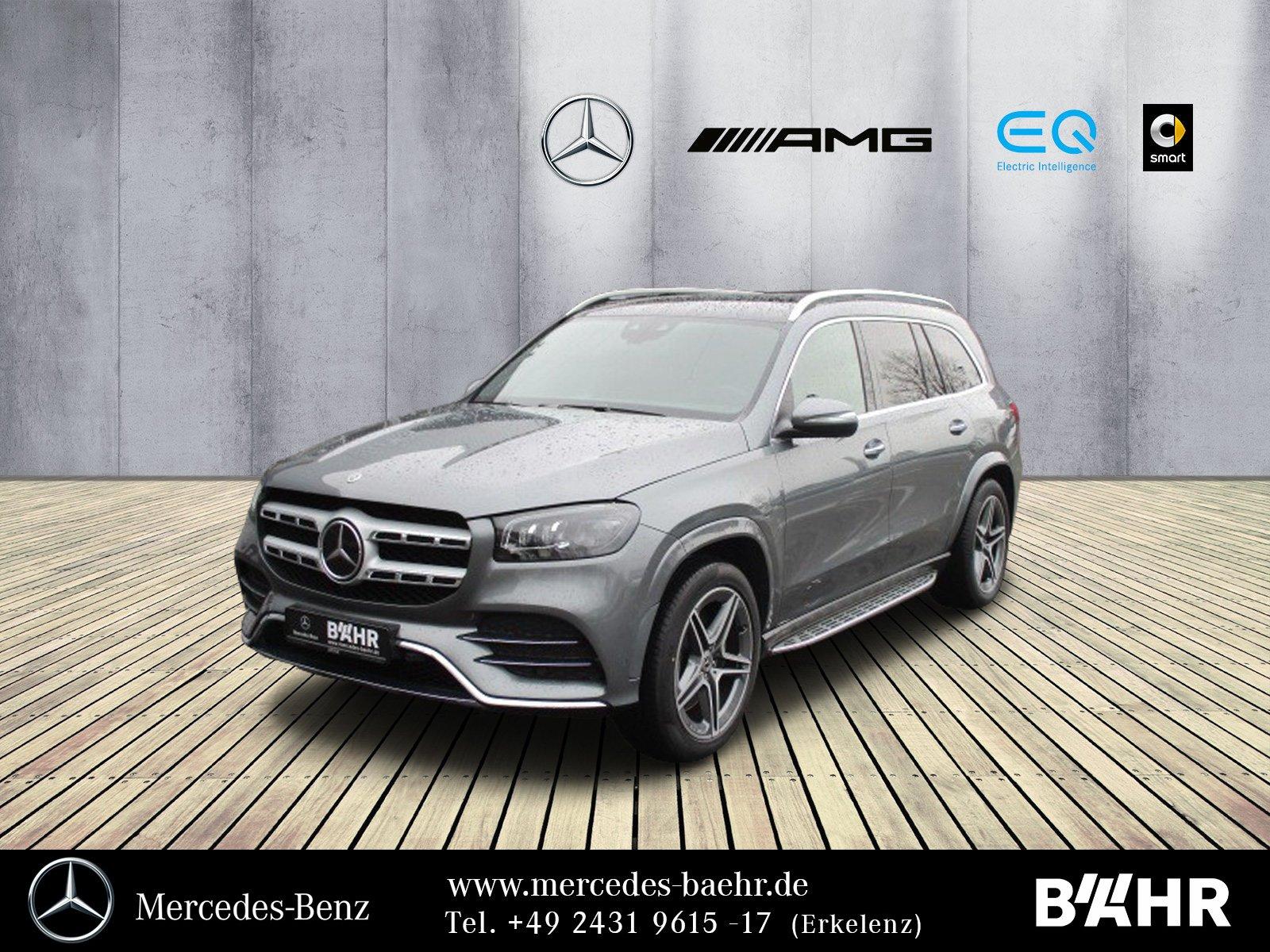 Mercedes-Benz GLS 400 d 4M AMG/MBUX-Navi/Multibeam/AHK/Head-Up, Jahr 2019, Diesel