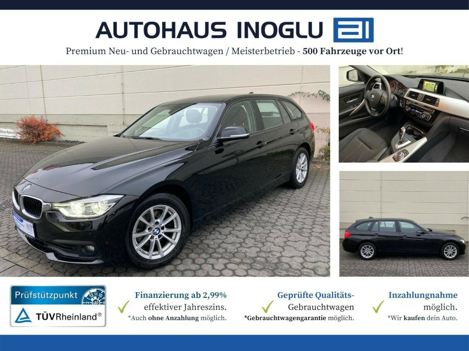 BMW 320 d Touring Automatik Navi R.Cam LED SHZ EURO6, Jahr 2017, Diesel
