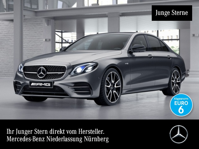 "Mercedes-Benz E 43 AMG 4M Fahrass.Wide.HuD.Pano.20""AMG.360°, Jahr 2017, petrol"
