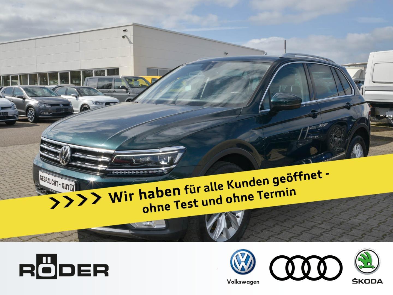 Volkswagen Tiguan Highline 2.0 TDI 4 Motion LED DAB Navi HU, Jahr 2016, Diesel