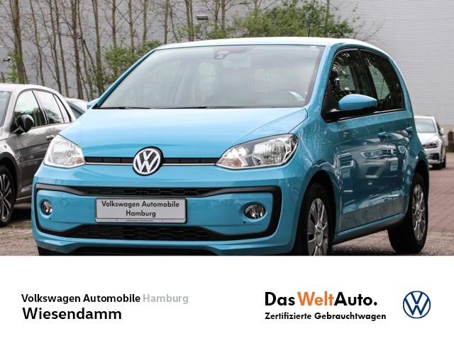 Volkswagen up! 1.0 move up! Tempomat Klima ESP Sitzhzg vorn, Jahr 2016, Benzin