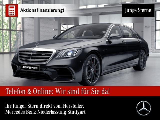 "Mercedes-Benz S 63 AMG 4M+ Lang Pano Burmester3D 20"" Distronic, Jahr 2018, petrol"