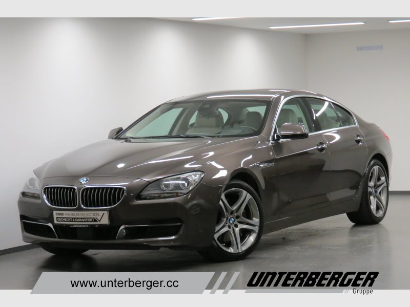 BMW 640i Gran Coupé Head-Up HiFi Xenon Standhzg., Jahr 2012, petrol